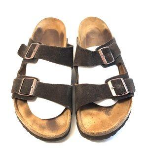 Birkenstock Arizona Men's Brown Sandal 45/11.5 GUC